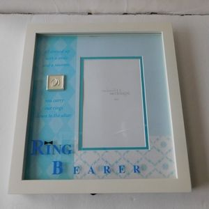 Exclusive Wedding Ring Bearer Picture Frame